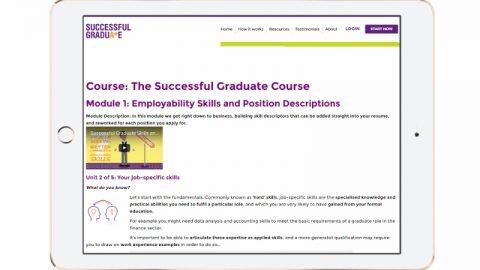 successful graduate course